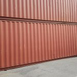 40' Box HC Container - 548