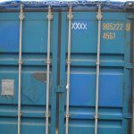 40' Box Open Top Container - 554