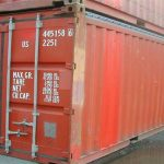 20' Box Open Top Container - 551