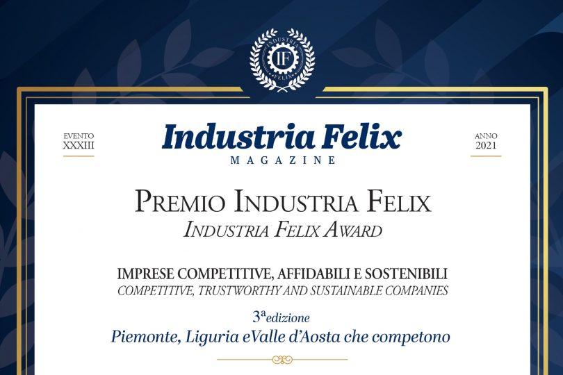 Gruppo Spinelli vince Premio Industria Felix 2021